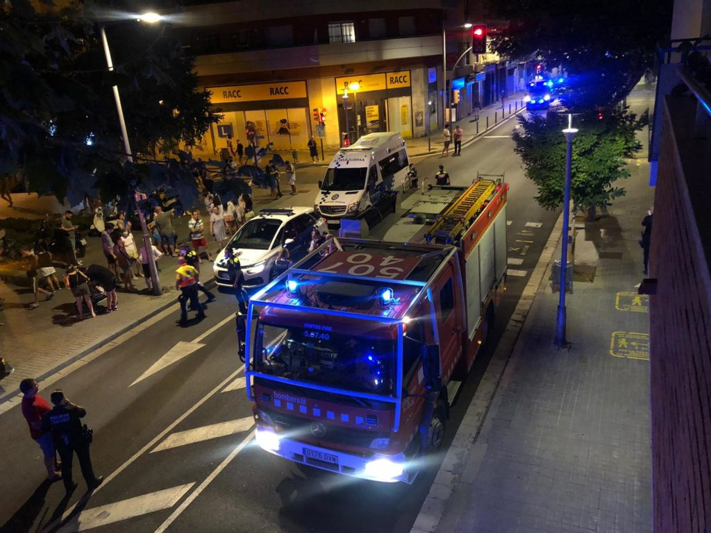 Incendi Santa Eulalia dissabte nit
