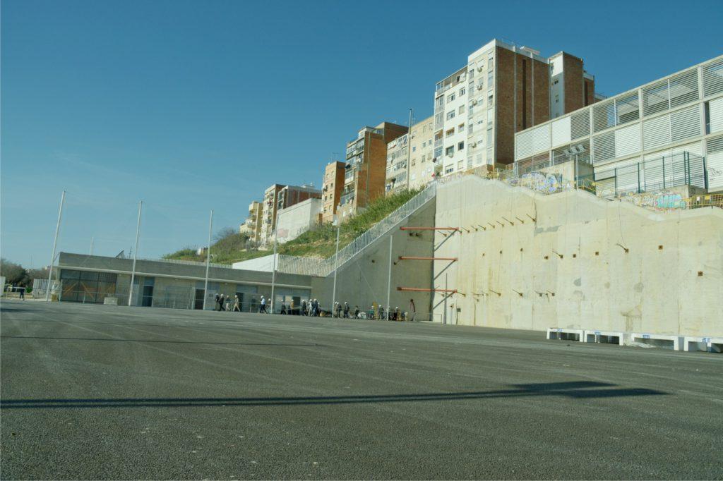 El nuevo campo de fútbol de La Torrassa se inaugurará en octubre