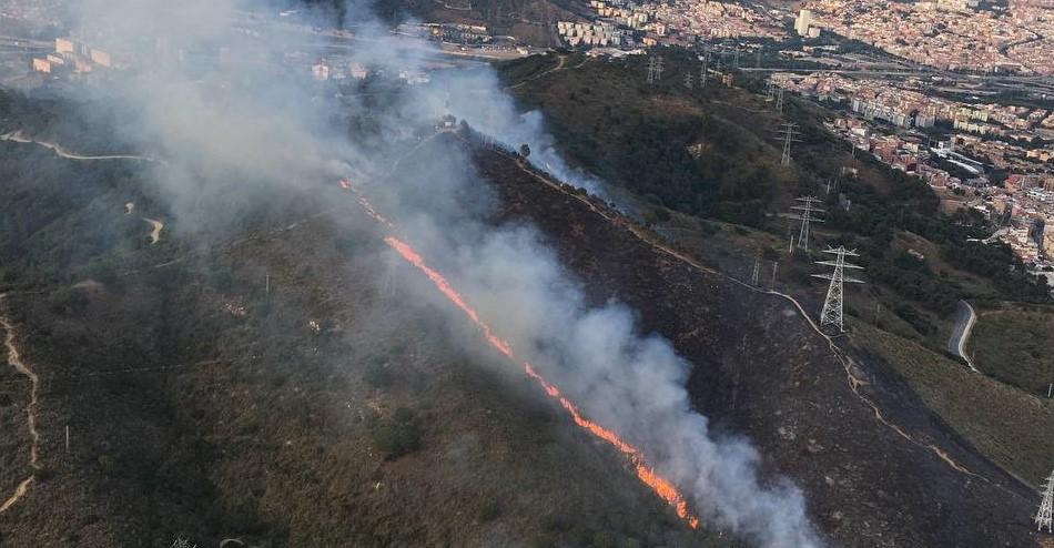Incendi Collserola Flanco derecho (2)